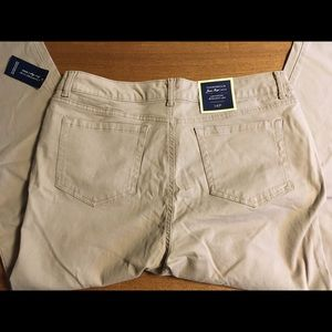 Charter Club 14 Petite almond latte denim